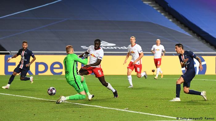 Champions League Halbfinale RB Leipzig v Paris Saint-Germain Tor Di Maria (Getty Images/D. Ramos)
