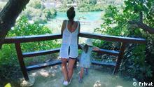 Bild 2 Und 3: Natalie In Kroatien mit ihrer Familie, Sommer 2020 Bild 4: Christina in Irland, mit ihrer Familie. Sommer 2020 Copyright bei den drei Bildern - privat Zulieferung durch Marina Jung-Borisova