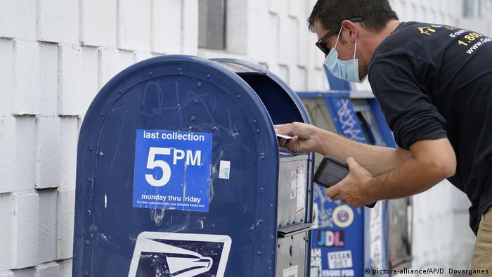 Symbolfoto I Briefwahlen in den USA
