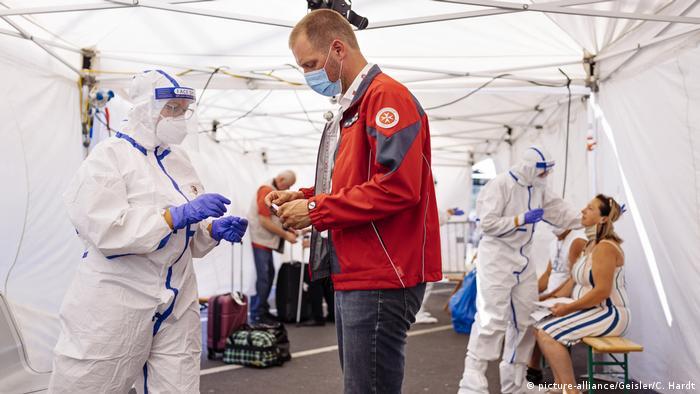 В аэропорту Кельна-Бонна тестируют на коронавирус