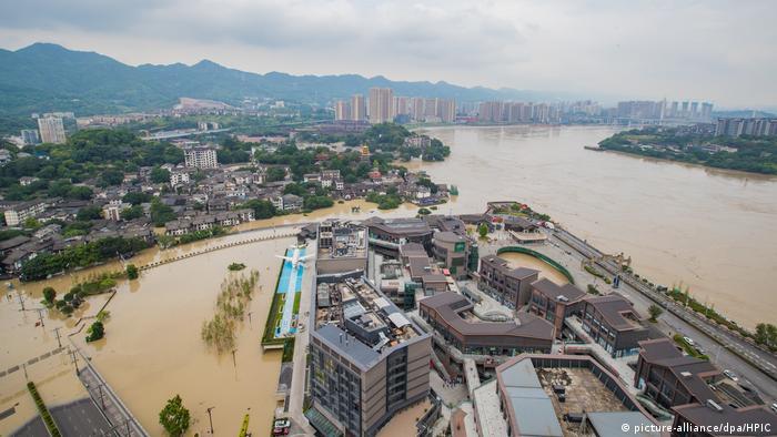 China Hochwasser Flut (picture-alliance/dpa/HPIC)