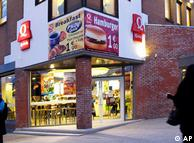 Fast-food halal processado por discriminação