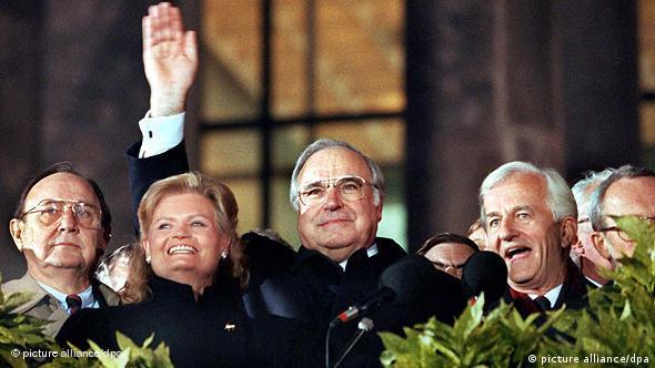 U jednom od povijesnih trenutaka - nakon ponovnog ujedinjenja Njemačke