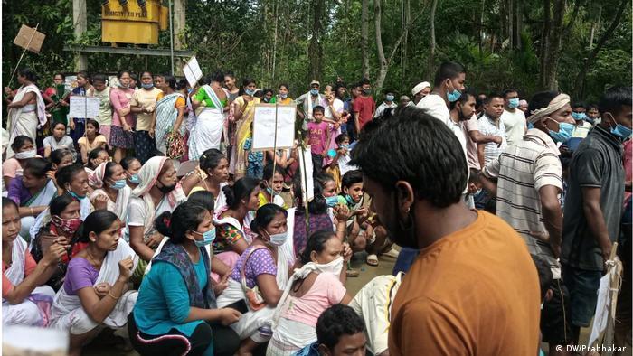 Indien Assam EIA Protest