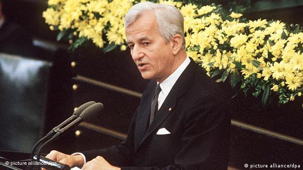Richard von Weizsäcker in 1985