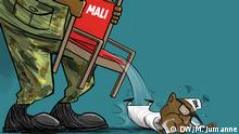 Political situation in Mali with the president IBK victim of a Coup