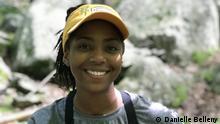 Danielle Belleny, eine Wildbiologin und Mitbegründerin der #BlackBirdersWeek