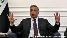 Irak Ministerpräsident Al-Kadhimi