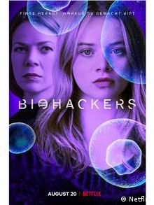 Cartaz da série Biohackers, da Netflix