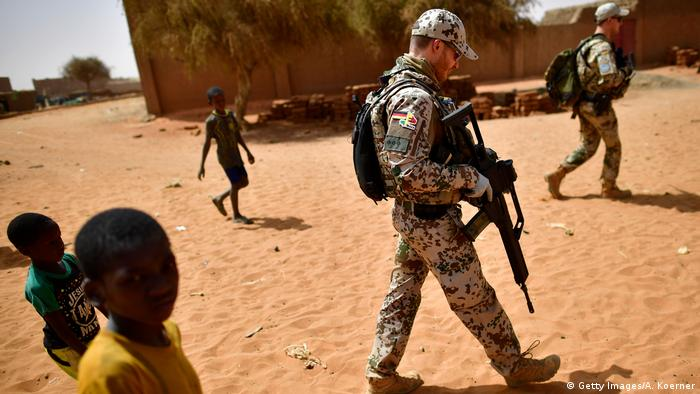 Mali Bundeswehr-Soldaten (Getty Images/A. Koerner)