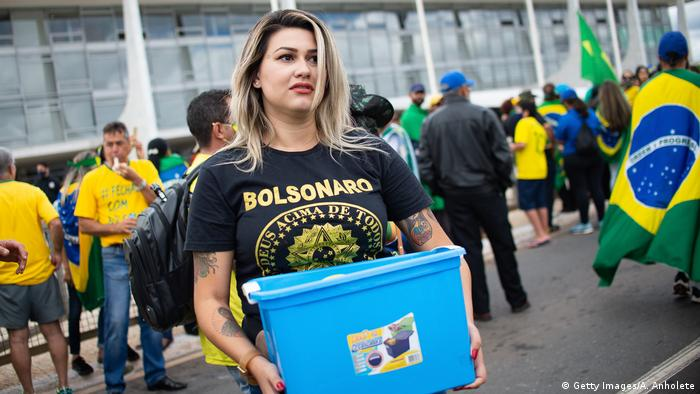 Brasilien Aktivistin Sara Winter Grup 300 do Brasil