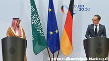 Berlin | Prinz Faisal bin Farhan Al Saud bei Maas trifft saudi-arabischen Amtskollegen