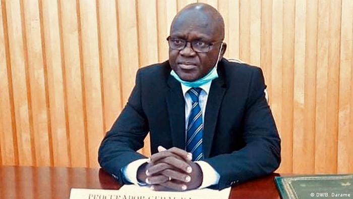 Guinea-Bissau | Justizminister Fernando Gomes (DW/B. Darame)