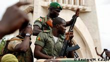 Mali I Demonstration gegen Regionalblock ECOWAS in Bamako