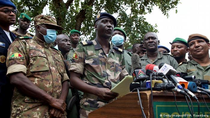 Mali Kati PK Putsch Anführer Ismael Wague (Getty Images/AFP/A. Risemberg)