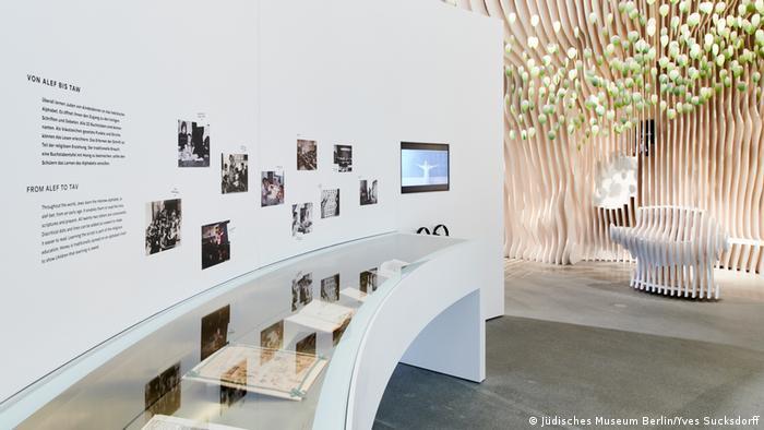 Exposição permanente do Museu Judaico de Berlim