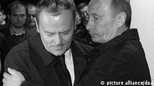 Vladimir Putin und Donald Tusk