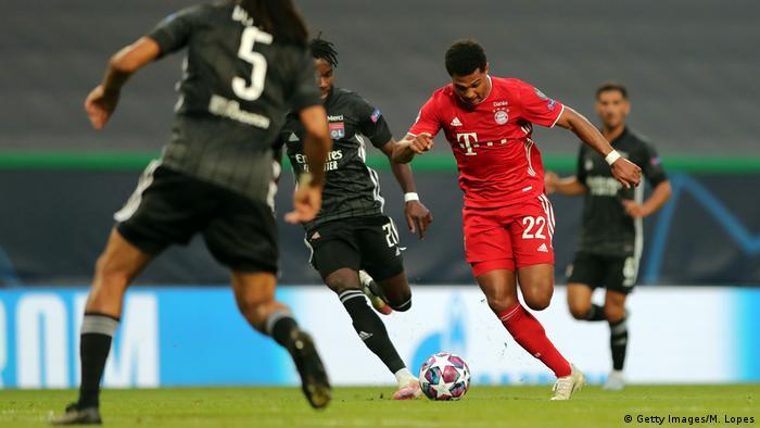 Champions League Halbfinale Lyon Bayern München Gnabry 2. Tor (Getty Images/M. Lopes)