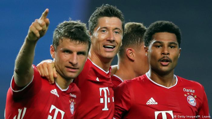 Champions League Gnabry Magic Steers Relentless Bayern Munich Into Final Sports German Football And Major International Sports News Dw 19 08 2020