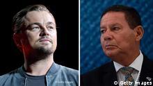 Kombobild I Leonardo DiCaprio I Hamilton Mourao