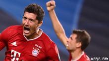 Champions League   Halbfinale   Lyon vs. Bayern München - Robert Lewandowski