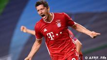 Champions League | Halbfinale | Lyon vs. Bayern München - Robert Lewandowski