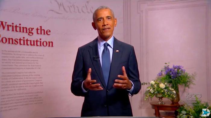 Barack Obama discursou na Filadélfia, cidade onde a Constituição americana foi redigida e assinada.