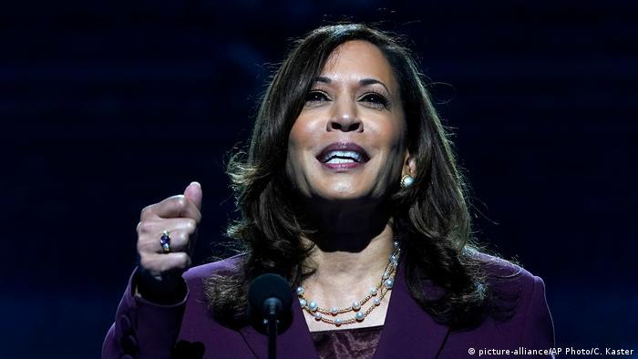 Kamala Harris aceita indicação do Partido Democrata para concorrer à vice-presidência