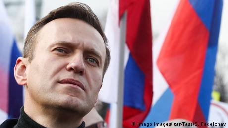 Russian opposition politician Alexei Navalny (Imago Images/Itar-Tass/S. Fadeichev)