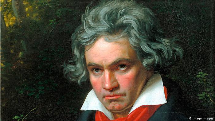 Retrato de Ludwig van Beethoven de Joseph Karl Stieler.