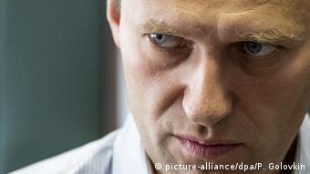 Político russo Alexei Navalny