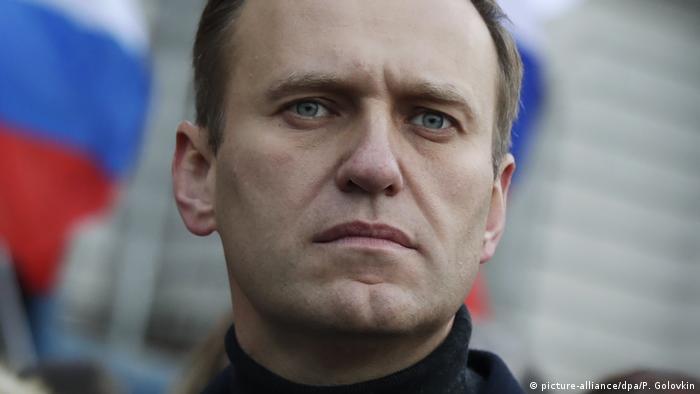 Alexej Nawalny Russland Opposition (picture-alliance/dpa/P. Golovkin)