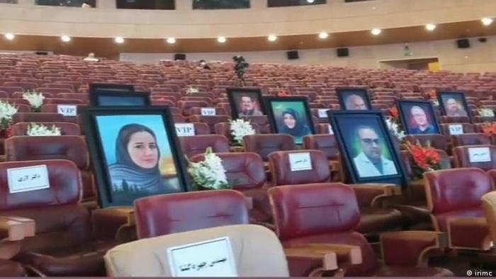 تصاویر شماری از اعضای کادر درمانی ایران که جان خود را بر سر مداوای بیماران کرونایی گذاشتد