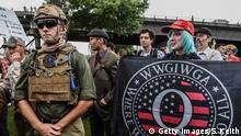 USA Portland | Demonstrationen | Qanon-Anhänger