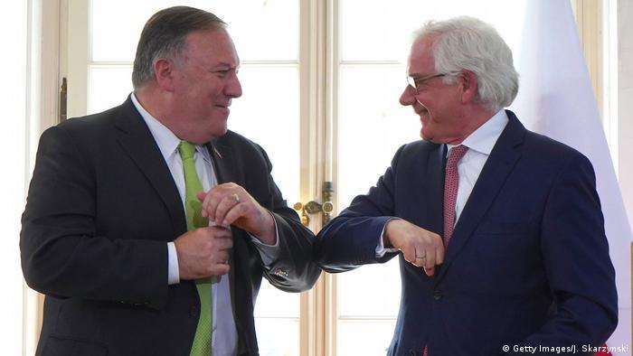 Polen Warschau Mike Pompeo und Jacek Czaputowicz (Getty Images/J. Skarzynski)