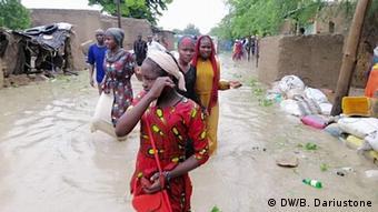 Plusieurs quartiers de N'Djaména sont inondés