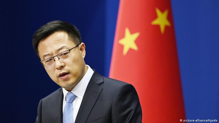 China Sprecher des Aussenministeriums Zhao Lijian