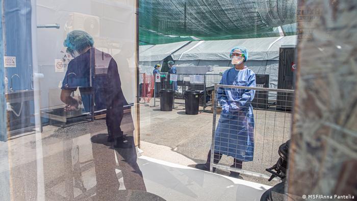 Ärzte ohne Grenzen Flüchtlingslager Moria Coronavirus