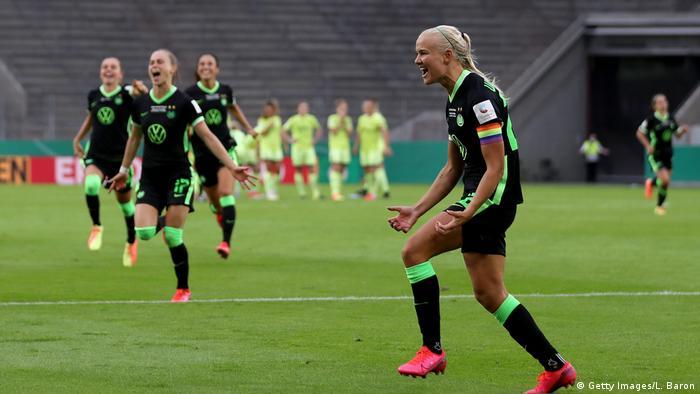 Wolfsburg's Prenille Harder