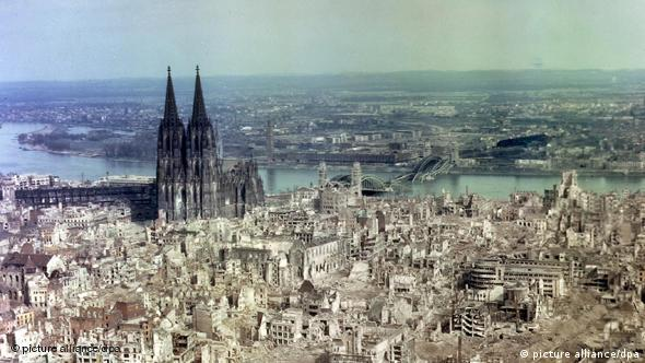 Кельн. 1945 год