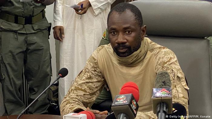 Mali Bamako Kolonel Assimi Goita