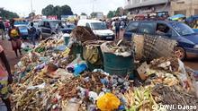 Müll in Bissau