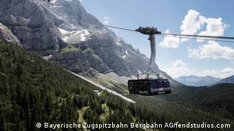 Bayern Zugspitze Seilbahn