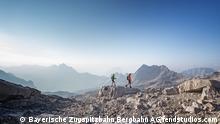 Bayern Zugspitze Sommerwandern