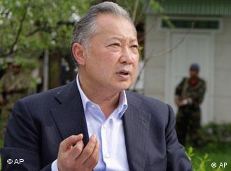 Свергнутый президент Киргизии Курманбек Бакиев