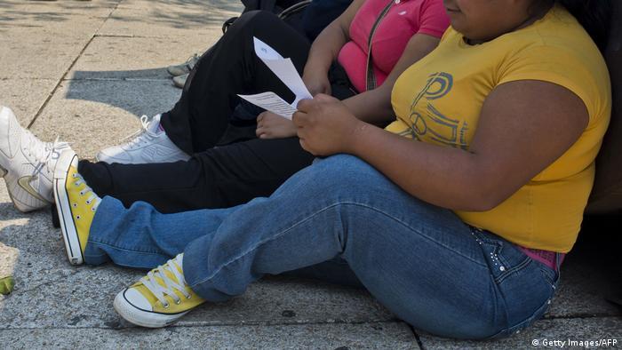 Symbolbild Mexiko Fettleibigkeit (Getty Images/AFP)