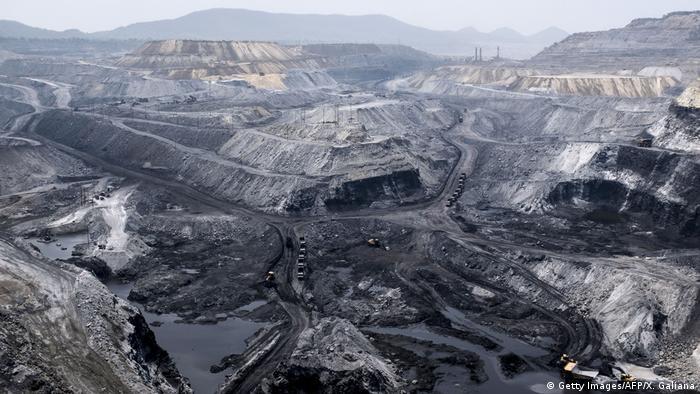Coal mine, Jharkhand, India