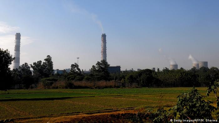 Indien Kohlekraftwerk