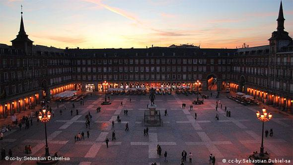 Spanien Madrid Plaza Mayor Flash-Galerie