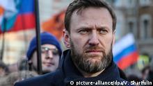 Russland Opposition | Alexei Nawalny | Gedenktag Boris Nemzow in Moskau 2016